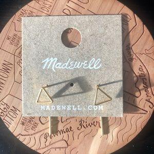 Madewell Triangle Drop Earrings